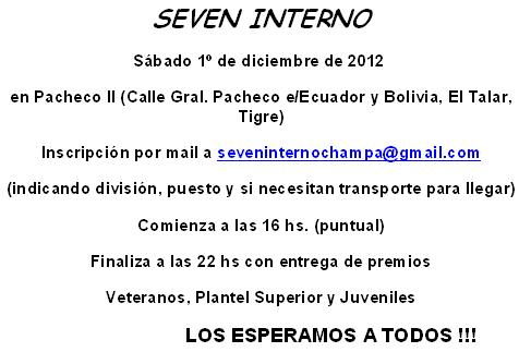 Seven Interno 2012